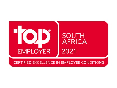 Top Employer 2021 South Africa