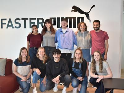 PUMA interns in Boston