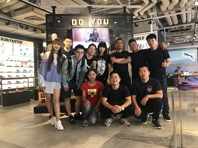 PUMA Mitarbeiter/Innen China