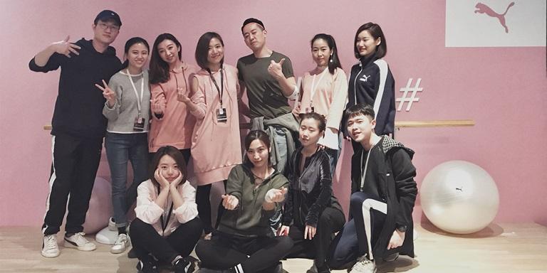 PUMA Mitarbeiter/Innen in China