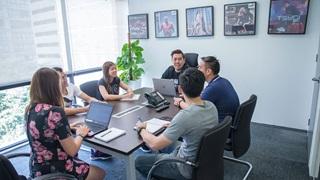 Team-Meeting bei PUMA