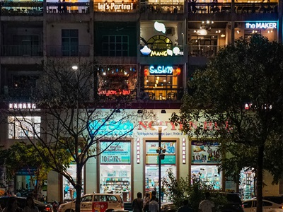 Ho-Chi-Minh-Stadt in Vietnam