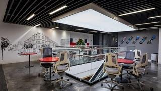 Bürobereich bei PUMA in Vietnam
