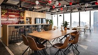Essbereich im PUMA Büro Vietnam