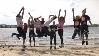 PUMA Ukraine Team on the beach