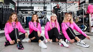PUMA Ukraine Mitarbeiterinnen in pink