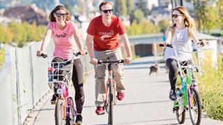 Fahrradtour in Österreich