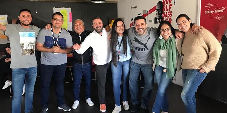 Mitarbeiter von PUMA Brasilien