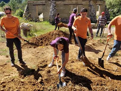 PUMA employees helping local community