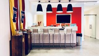 русская офисная кухня