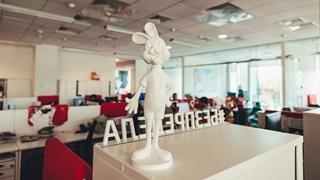 статуя российского офиса