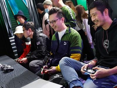 PUMA gaming event in Hong Kong