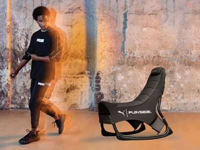 PUMA's and Playseat's Gaming Seat