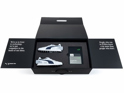 PUMA's RS Computer Shoe in the box