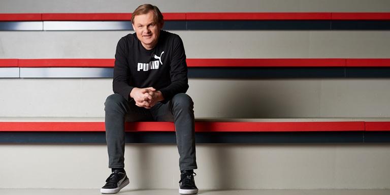 PUMA CEO Bjoern Gulden