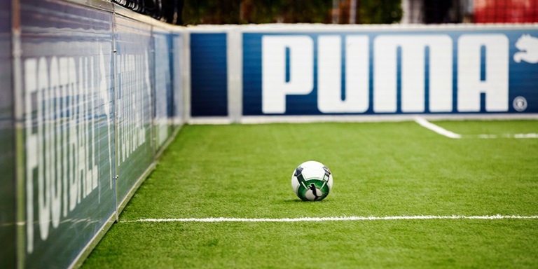 Soccer Pitch at the PUMA Headquarters