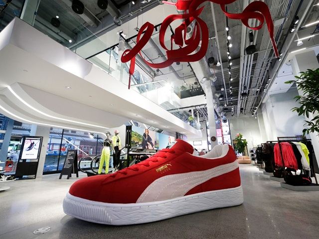 PUMA Store on Fifth Avenue in New York City