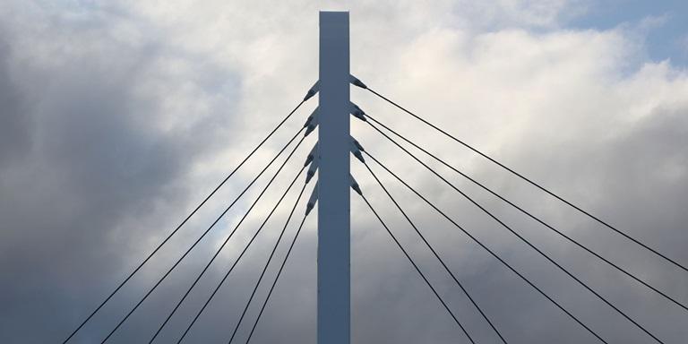 Der höchste Punkt von PUMAs Brücke