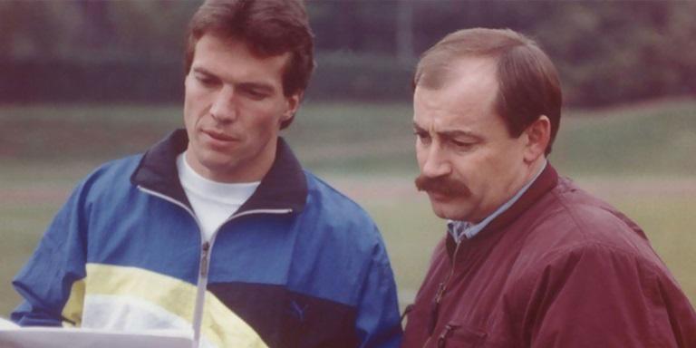 Helmut Fischer and Lothar Matthäus