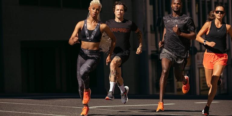 PUMA Running team